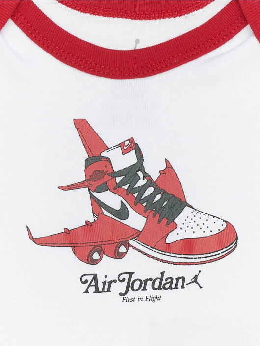 Jordan Body AJ1 First In Flight blanco