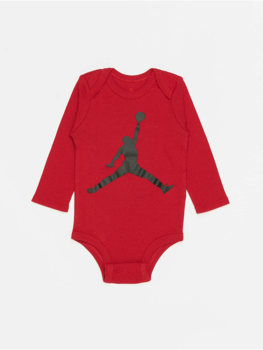 Jordan Body L/S Jumpman czerwony