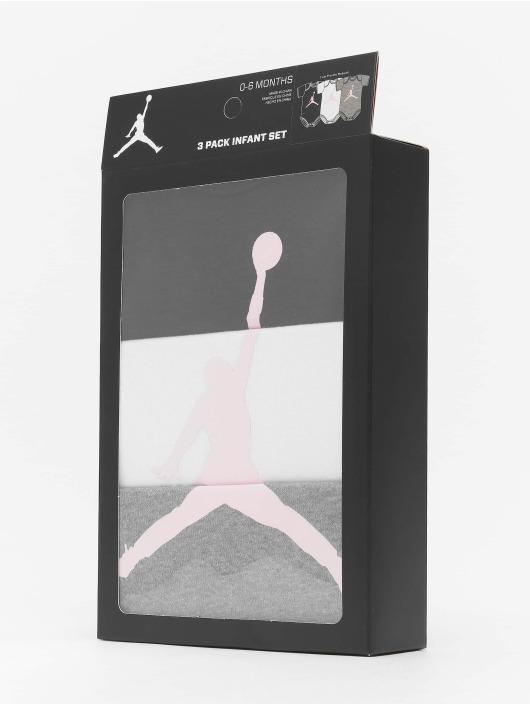 Jordan Body 3-Pack Jumpman harmaa