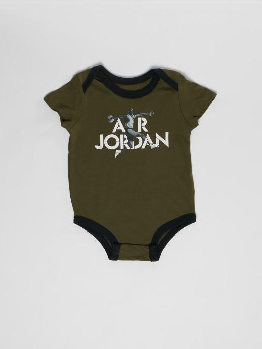 Jordan Body Photo 3PK Set olijfgroen