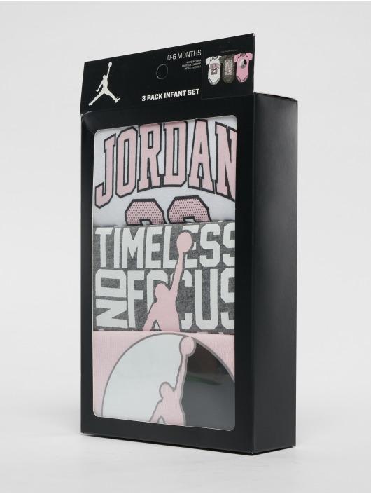 Jordan Body Jumpman 3PK Creeper Set pink