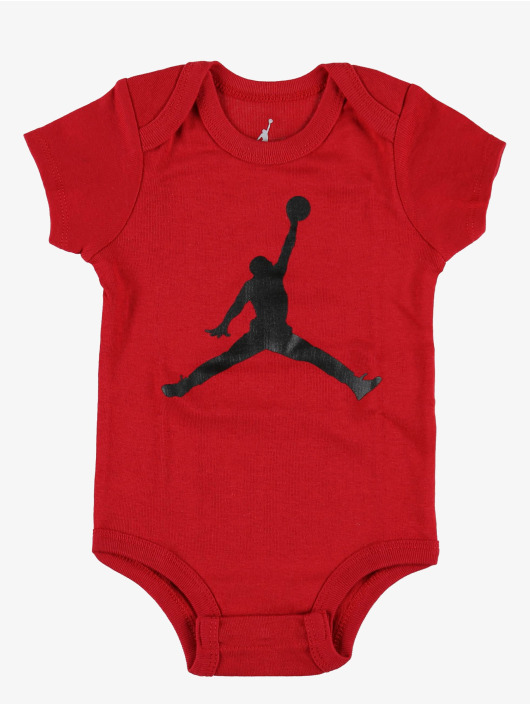 Jordan Body Jumpman Hat/Bodysuit/Bootie 3 Pieces punainen