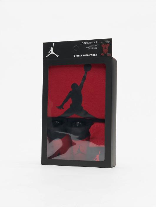 Jordan Body Jumpman Hat/Bodysuit/Bootie 3 Pieces rouge
