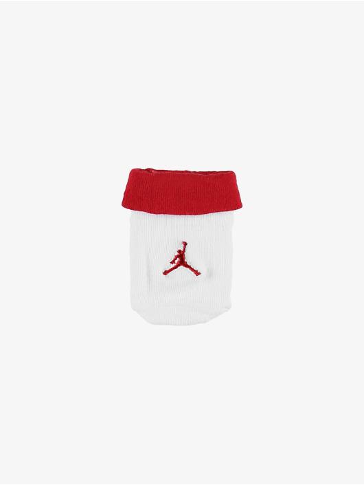 Jordan Body Jumpman Hat/Bodysuit/Bootie Set 3 Pieces rouge