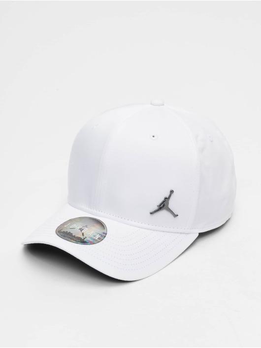 Jordan Casquette Snapback & Strapback CLC99 Metal Jumpman blanc