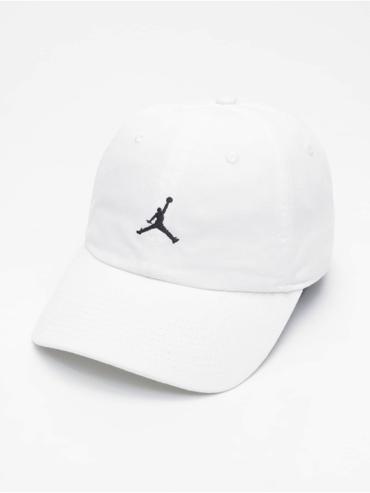 Jordan Casquette Snapback & Strapback H86 Jumpman Floppy blanc