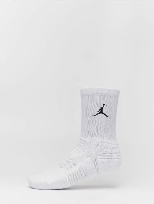 Jordan Chaussettes de sport Flight blanc