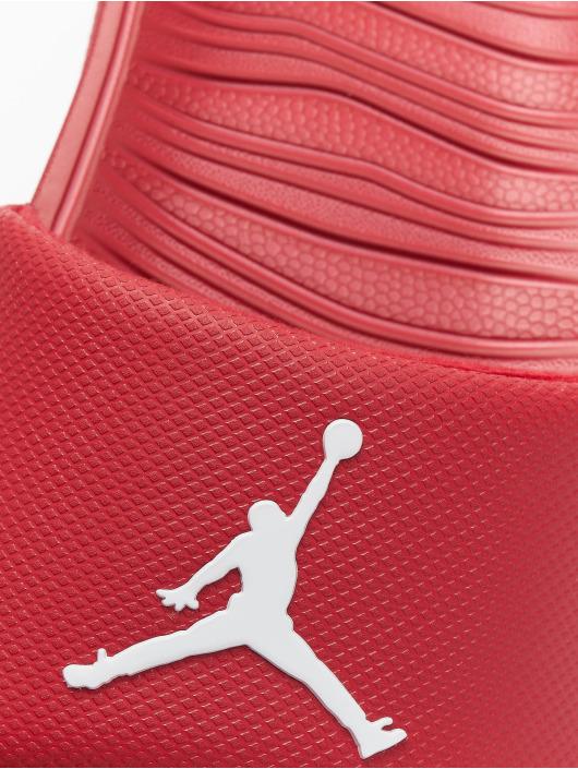Jordan Claquettes & Sandales Break Slide rouge