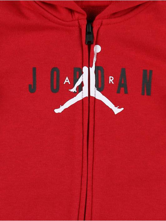 Jordan Dresy Jumpman Air Full Zip czerwony