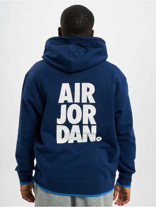 Jordan Felpa con cappuccio JMC Fleece blu