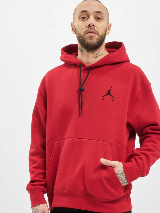 Jordan Felpa con cappuccio Jumpman Air rosso
