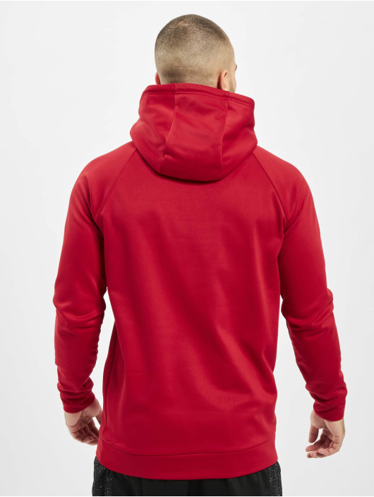 Jordan Hettegensre 23 Alpha Therma Fleece red
