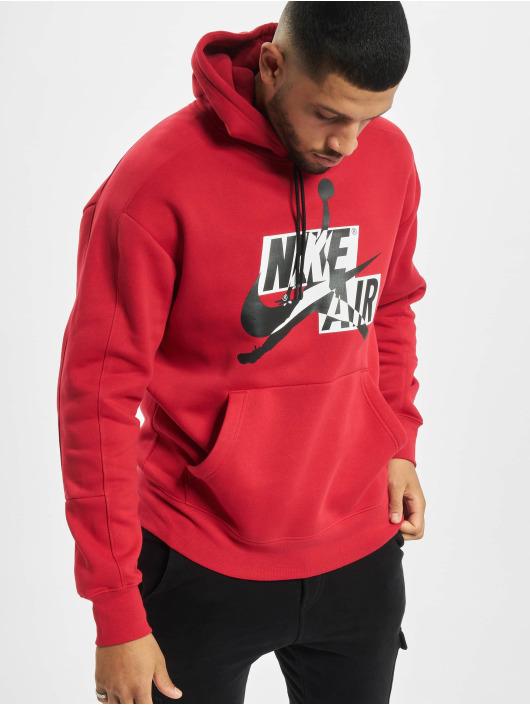 Jordan Hoodie JMC Fleece red