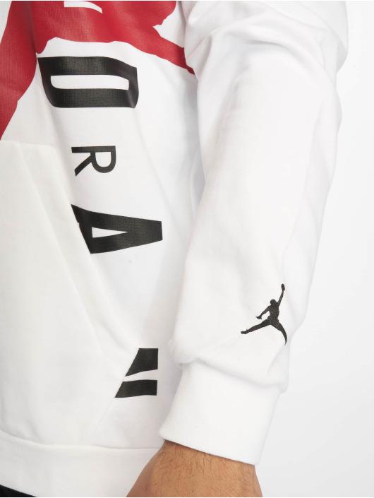 Jordan Hoody Jumpman Air Lightweight weiß
