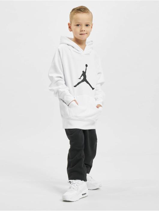 Jordan Hoody Jumpman Logo weiß
