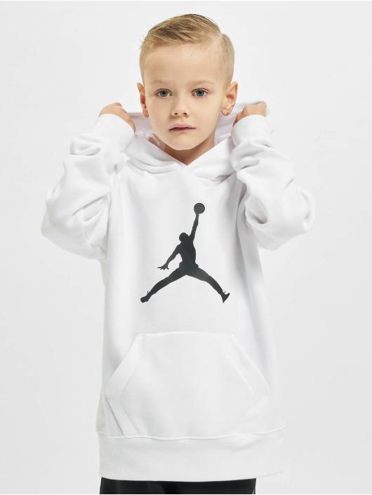Jordan Hupparit Jumpman Logo valkoinen