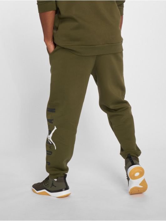 Jordan Olive Fleece Graphic Jogging Homme Jumpman Air 468021 JFK1lcT