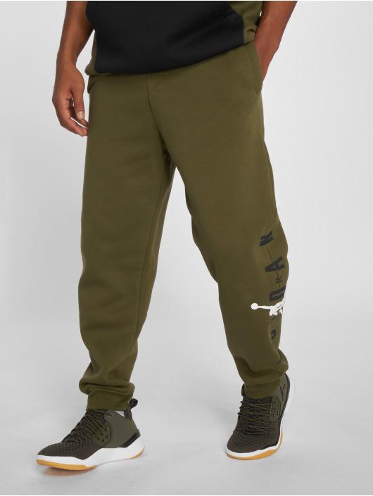Jordan Jogginghose Jumpman Air Graphic Fleece olive