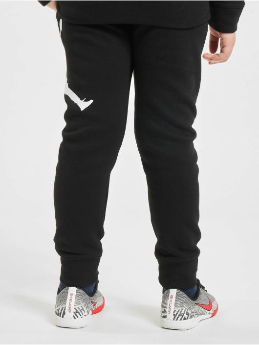Jordan Jogginghose Jumpman Logo schwarz