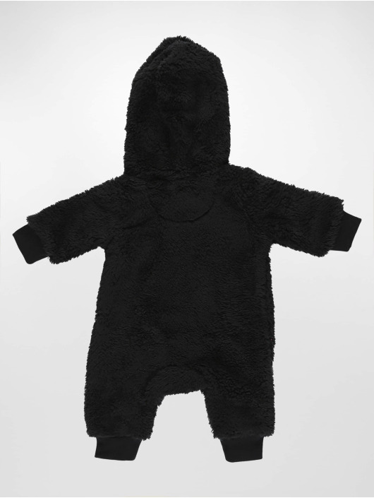 Jordan jumpsuit Sherpa Hooded zwart