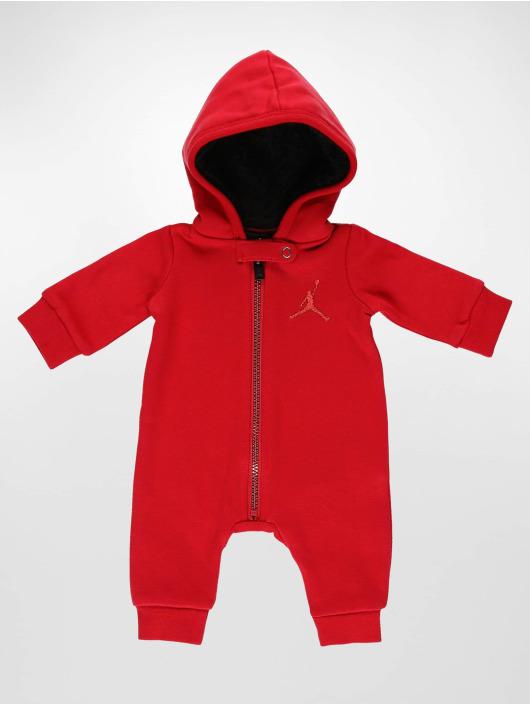Jordan Jumpsuits Metal ManHooded red