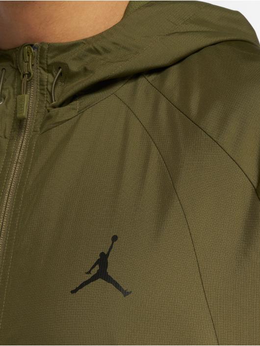 Jordan Kurtki przejściowe Sportswear Wings oliwkowy