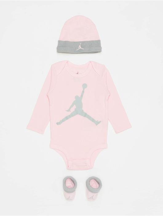 Jordan More L/S Jumpman pink
