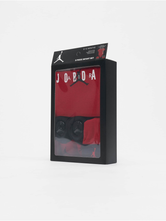 Jordan More Air 3 Pieces red