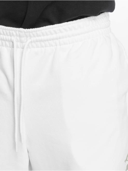 Jordan Pantalón cortos Jumpman Logo Fleece blanco