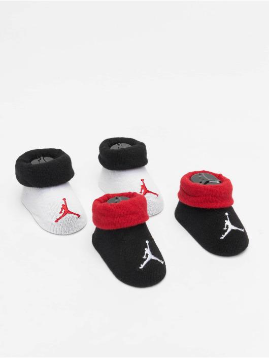 Jordan Ponožky Jumpman Colorblocked čern