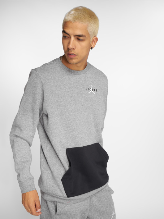 Jordan Pullover Jumpman Air Graphic Fleece grau