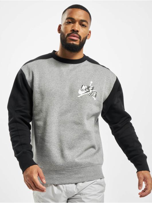 Jordan Pullover Fleece Crew grey