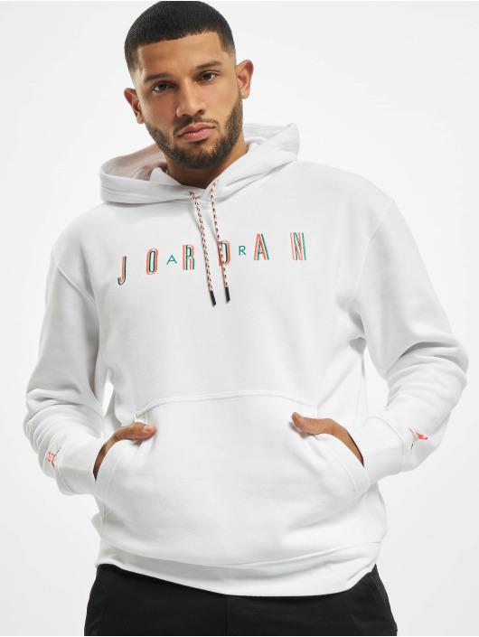 Jordan Pulóvre M J Sprt Fleece biela