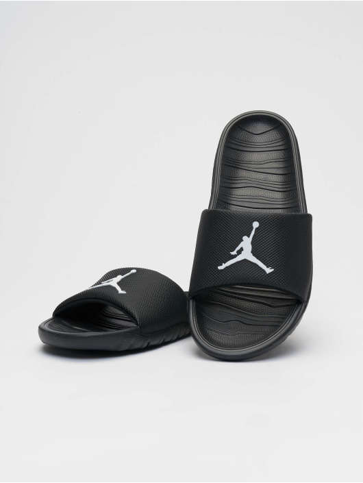 Jordan Sandalen Break Slide schwarz