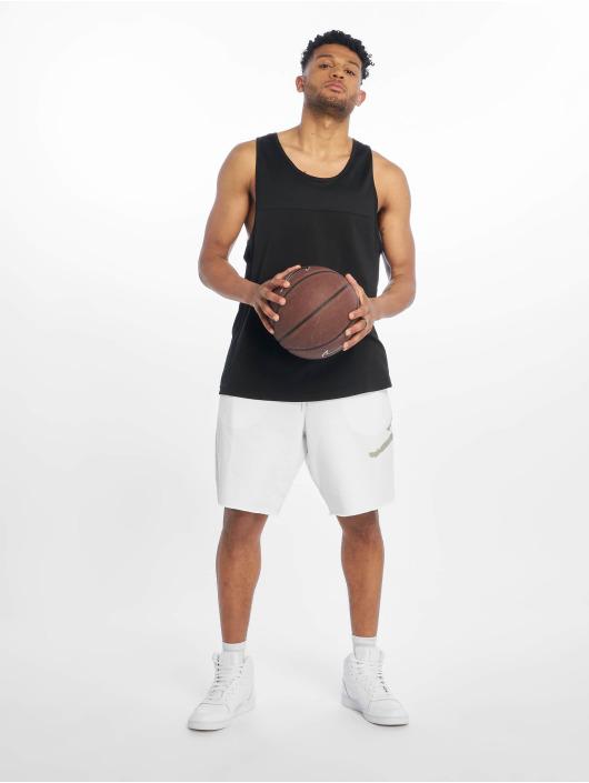 Jordan Short Jumpman Logo Fleece blanc