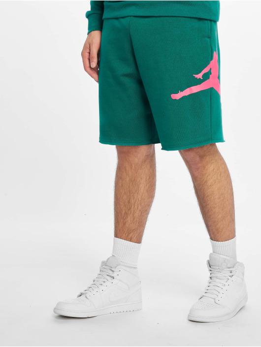 Jordan Shorts Jumpman Logo Fleece grün
