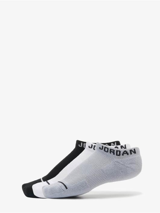 Jordan Skarpetki Jumpman No Show 3 Pack czarny