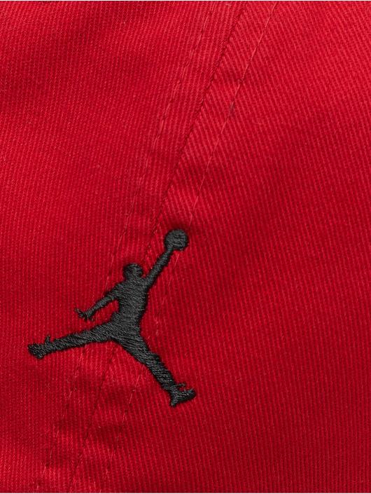 Jordan Snapback H86 Jumpman Floppy èervená