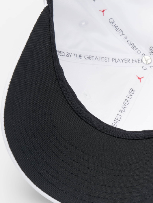 Jordan Snapback Cap CLC99 Metal Jumpman weiß