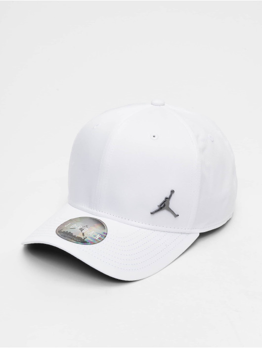 Jordan Snapback Caps CLC99 Metal Jumpman bialy