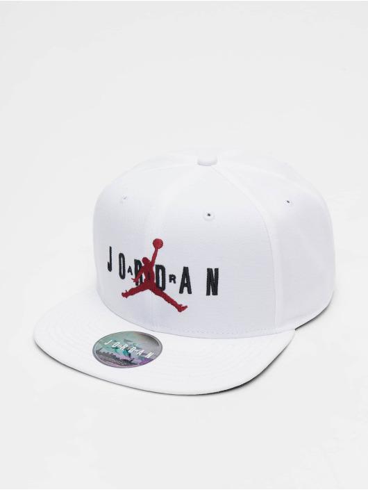 Jordan Snapback Caps Pro JM Air HBR bialy