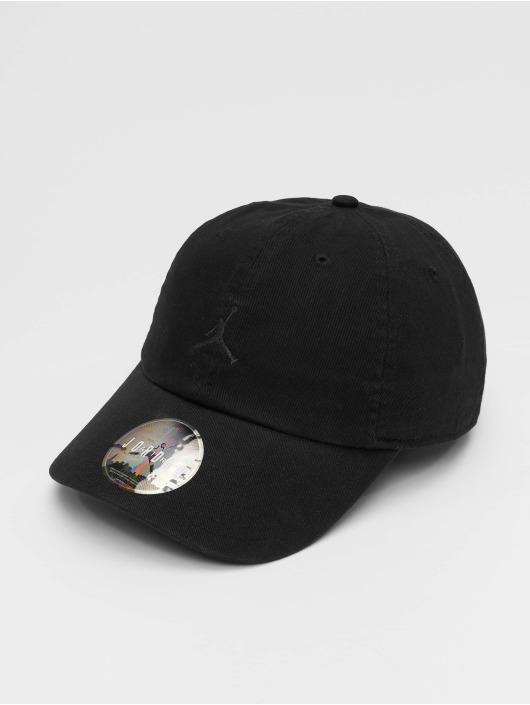 Jordan Snapback Caps H86 Jumpman Floppy czarny