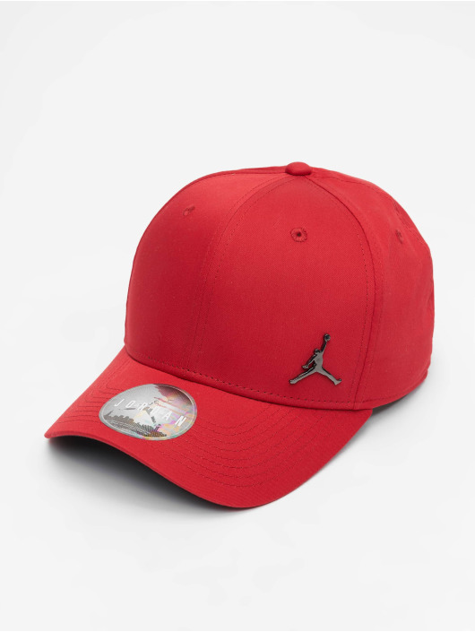 Jordan Snapback Caps Classic99 Metal Jumpman czerwony