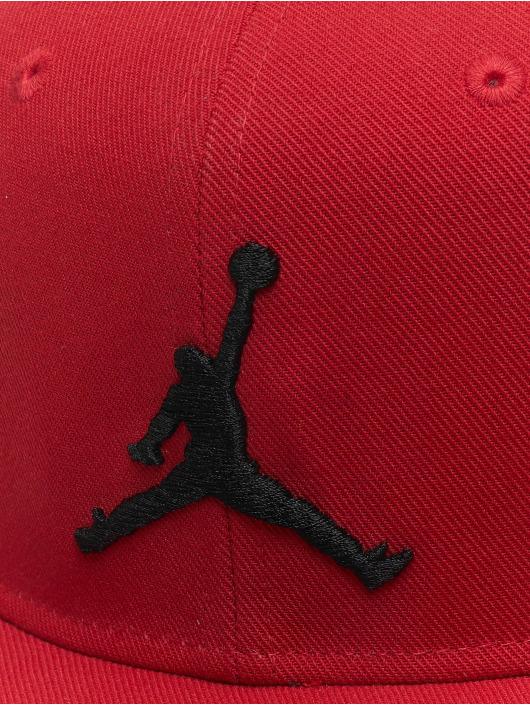 Jordan Snapback Caps Pro Jumpman czerwony