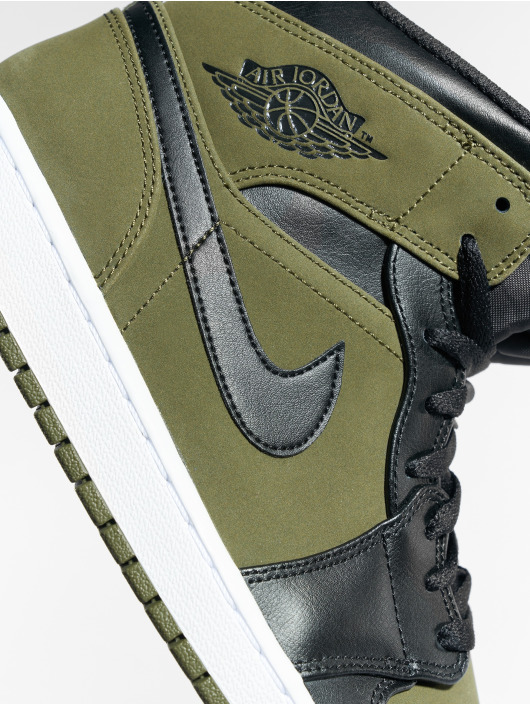 Jordan Sneaker Air Jordan 1 Mid oliva