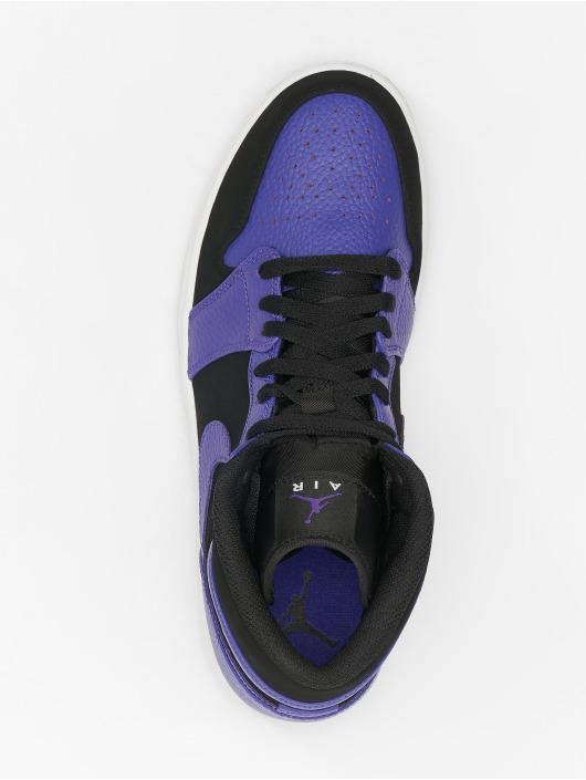 Jordan Sneaker 1 Mid schwarz