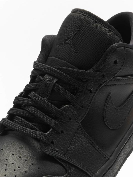 Jordan Sneaker 1 Low schwarz