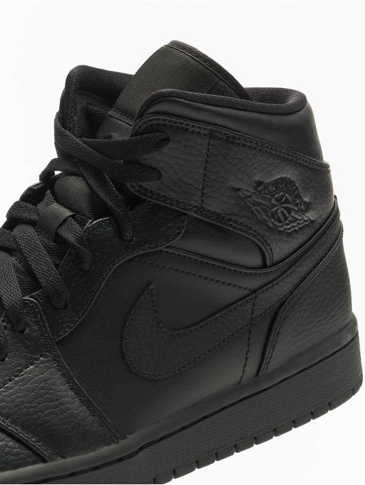 Jordan Sneaker Air Jordan 1 Mid schwarz