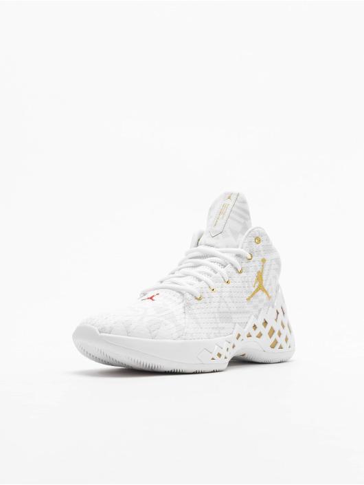 Jordan Sneaker Jumpman Diamond Mid weiß
