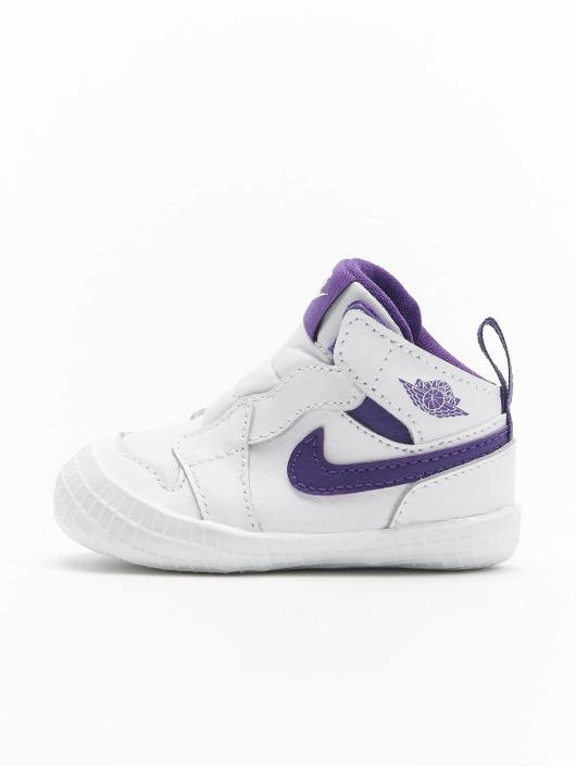 Jordan Sneaker 1 Crib Bootie weiß